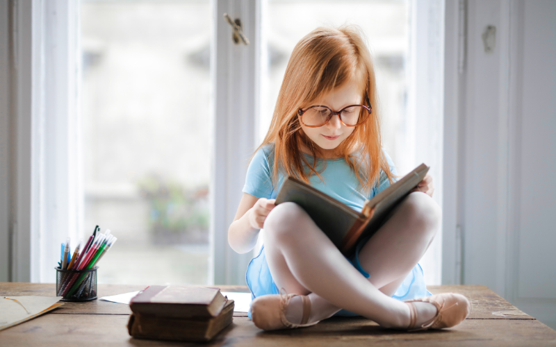 Perks of Reading! Children Who Read More Score More